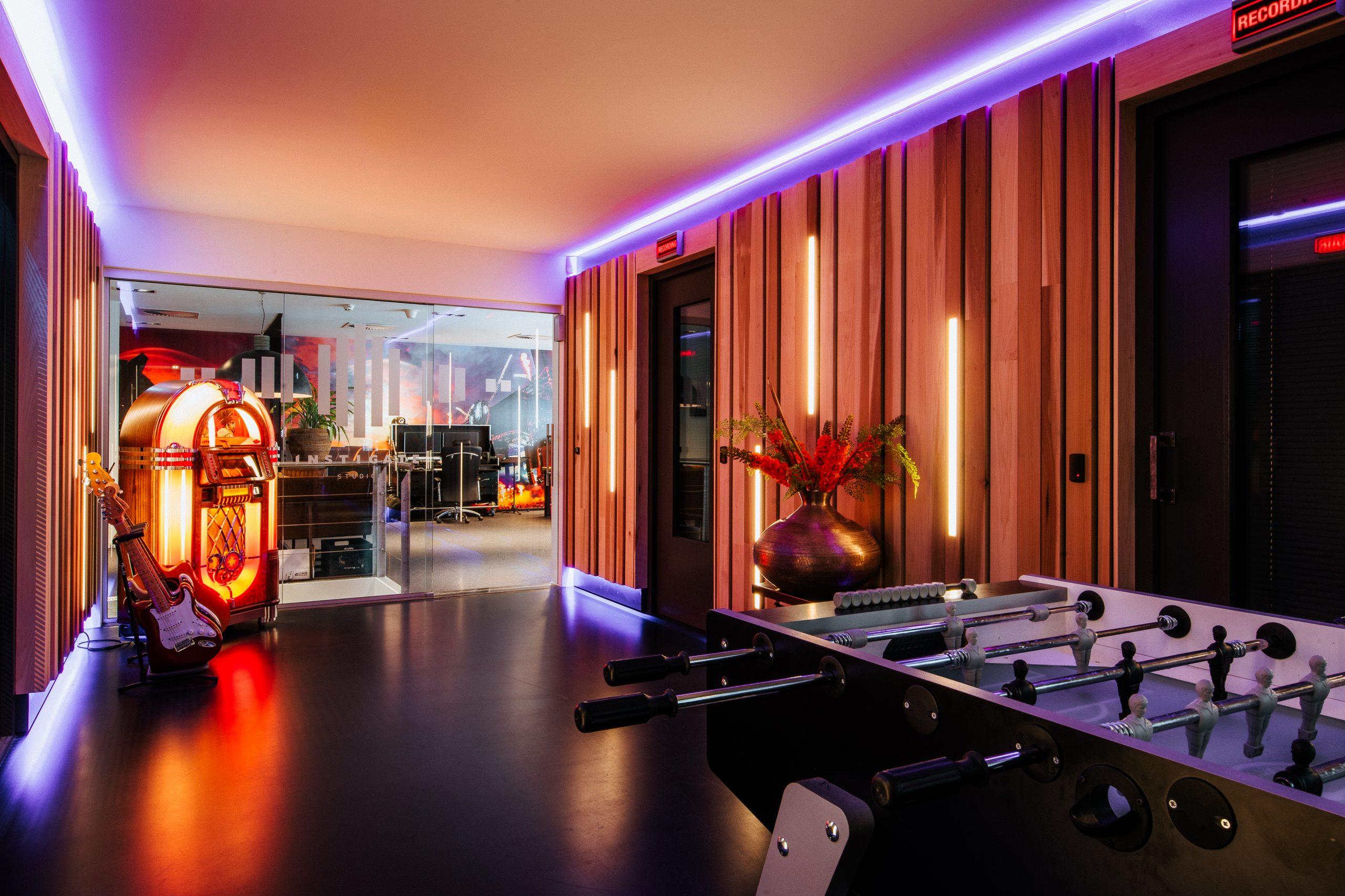 Instigate Studios Hallway